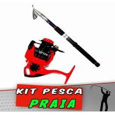 Kit Pesca Praia Winner 3.60
