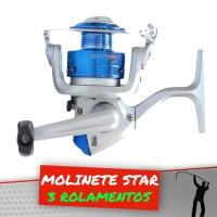 Molinete Star 3 rolamentos