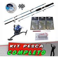 Kit Pesca Completo 60 itens
