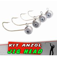 Kit Jig Head Open Eyes 15 g