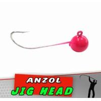 Jig Head Pink Luminoso