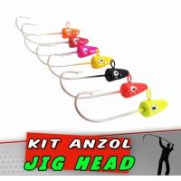 Kit Jig Head Cobra Colors 12 g