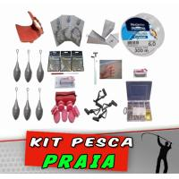 Kit Pesca Praia 170 itens