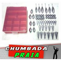 Kit Chumbada Praia 55 itens
