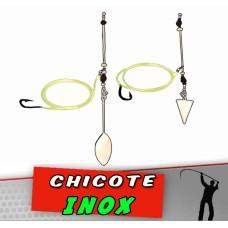 Chicote Inox Aço 2 unidades