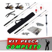 Kit Pesca Completo 102 itens
