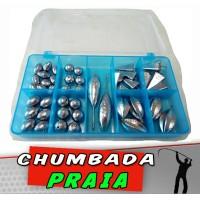 Kit Chumbada Praia 35 itens