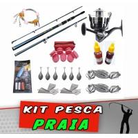 Kit Pesca Praia Completo