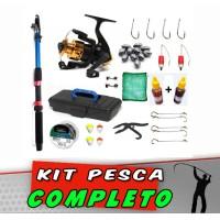 Kit Pesca 85 itens