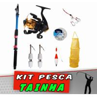 Kit Pesca Tainha Molinete