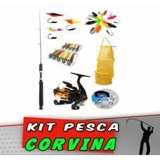 Kit Pesca Corvina 20 itens