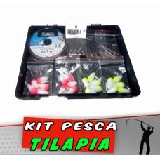 Kit Pesca Tilápia 52 itens