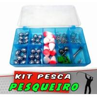 Kit Pesqueiro 83 peças