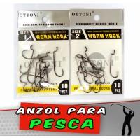 Anzol Worm Hook