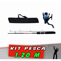 Kit Pesca Vara 1.20 m