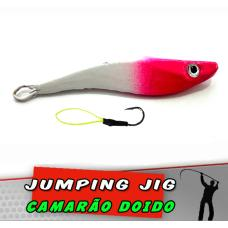 Jig Camarão Branco Pink