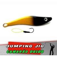 Jig Camarão Amarelo Preto