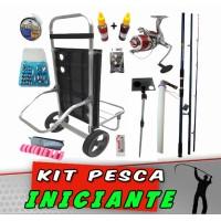 Kit Pesca Praia Iniciante