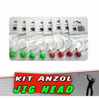 Kit Jig Head 4/0 10 g Pintado