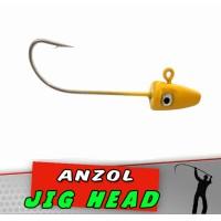 Jig Head Cobra Amarelo