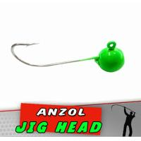 Jig Head Verde Luminoso