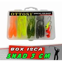 Kit Shad 5 cm 15 peças